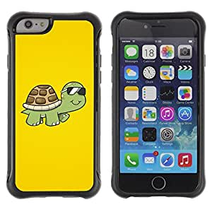 Jordan Colourful Shop@ Cool Sunglasses Turtle Rugged hybrid Protection Impact Case Cover For iphone 6 6S CASE Cover ,iphone 6 4.7 case,iphone 6 cover ,Cases for iphone 6S 4.7