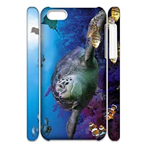 ANCASE Customized 3D case Tortoise for iPhone 5C