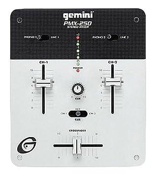 Amazon.com: Gemini pmx-250 mezclador de DJ/Phono ...
