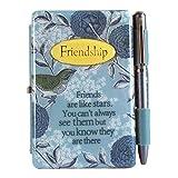 Con tapa almohadillas para orejas para orejas 1910009libro de amigos bloc de notas lino regalo
