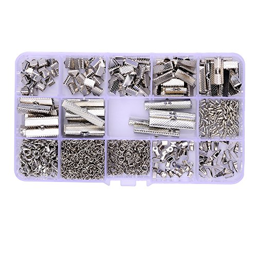 Silver 10mm Loop Clasps - 5