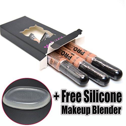 la-girl-pro-concealer-3-x-gc975-medium-bisque-hd-liquid-conceal-1-free-silicone-makeup-blender