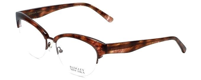 Occhiali da vista di design Vivianna in LENTE DEMO marrone-corno 54mm 0ycPj6