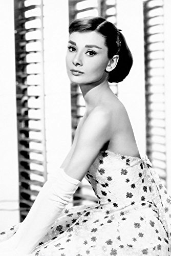 TST INNOPRINT CO Audrey Hepburn Black and White Poster 24x36