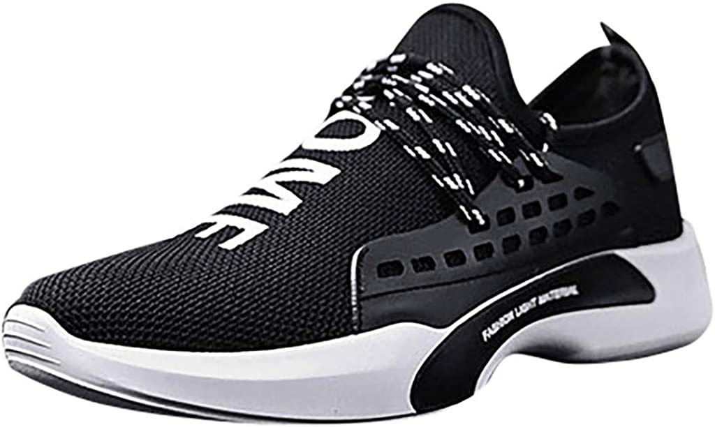 Memela Clearance Sale!!Men Sneakers Running Shoes Fashion Breathable Soft Casual Athletic Lightweight