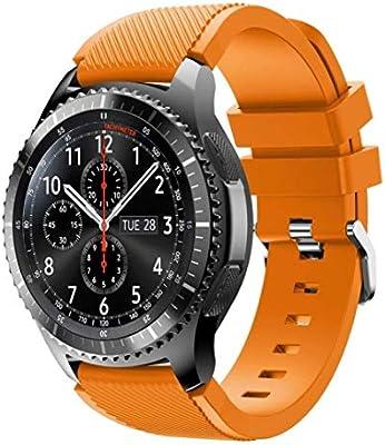 TMCCB Correa para Samsung Galaxy Watch 46mm/Gear S3 Frontier ...