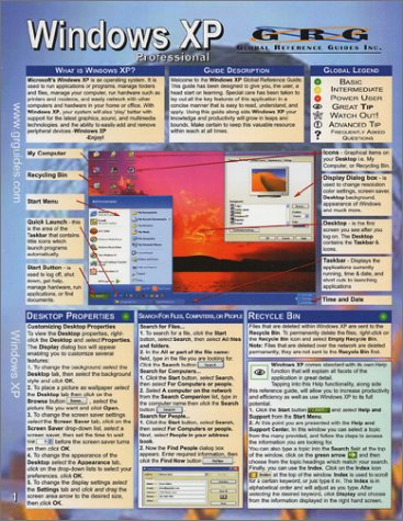 Windows XP Professional Edition: Quick Reference Guide pdf