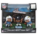 Lil' Teammates 3 Figurine San Diego Chargers NFL Team Set (Pack of 3)