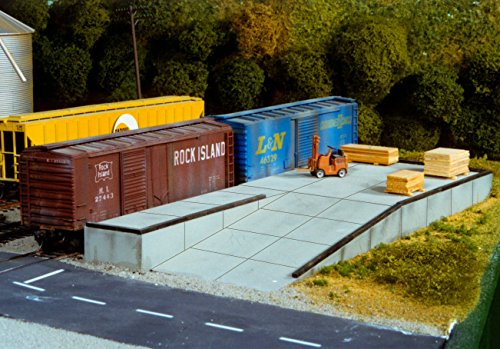 Rix Products HO Scale LOADING DOCK EZ Assembled Kit Item 5410017