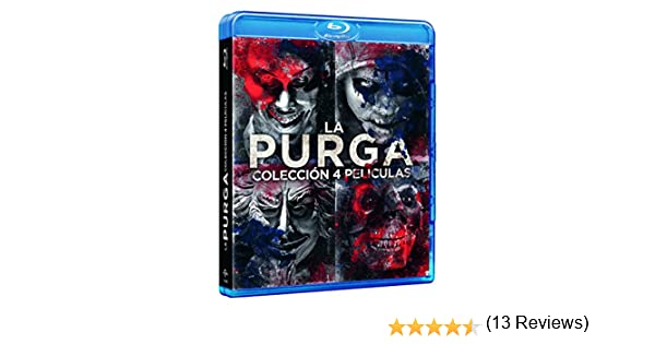 Pack: La Purga - 1-4 [Blu-ray]: Amazon.es: YLan Noel, Lex Scott Davis, Joivan Wade, Gerard McMurray, YLan Noel, Lex Scott Davis, Blumhouse Productions, Perfect World Pictures, Platinum Dunes: Cine y Series TV