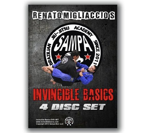 (Jiu Jitsu Invincible Basics 4 Disc DVD Set)