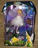 ": Disney Fairies 10"" Porcelain Doll - Tinkerbell Fairy in Arrival Gown - Tinker Bell (Tinkerbelle) by Brass Key"