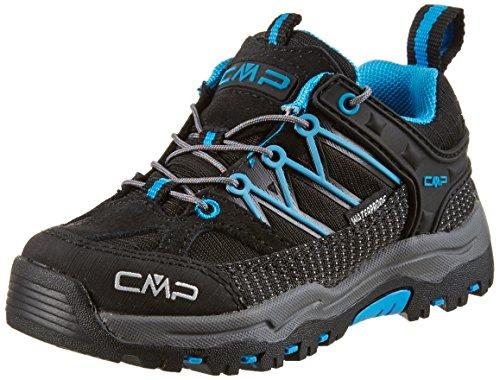 C.P.M. Rigel, Zapatos de Low Rise Senderismo Unisex Niños Negro (Nero)