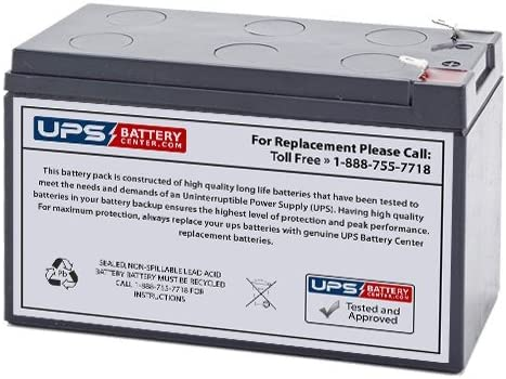 CSB GP6120 F1 battery 6V 12Ah Direct Replacement Equivalent