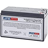 MK ES7-12T2 12V 7.2Ah F2 Replacement Battery
