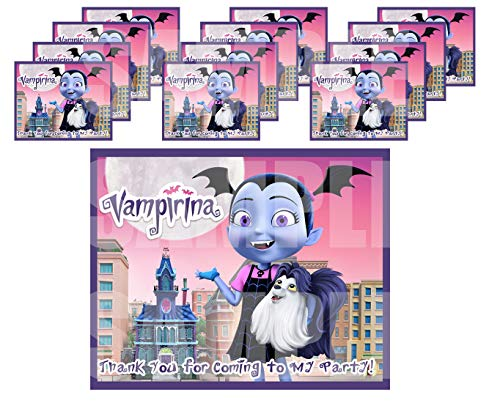 VAMPIRINA Stickers Party Favors Supplies Decorations Gift Bag Label Stickers ONLY 3.75