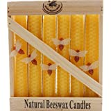 Green Pastures Wholesale Beeswax Yellow Taper Candle, 6-Inch