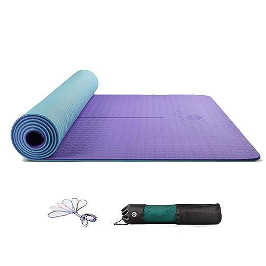 ZZKJCHENJIAN Tapete de Yoga Cuadrado/Tapete de meditación ...