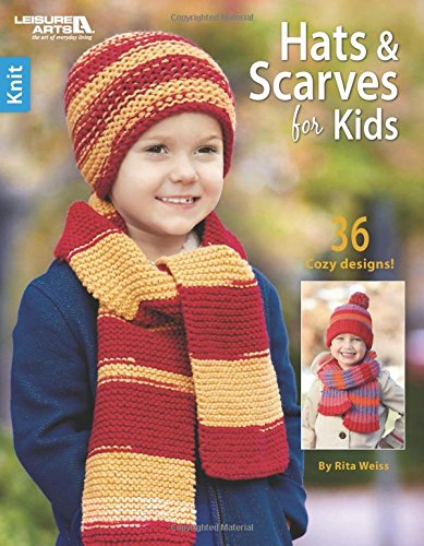 Knit Hats & Scarves for Kids | Leisure Arts (6721)