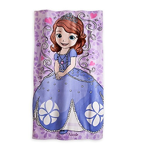 Disney Sofia the First Beach Towel Measures 30 X 60 Inches Disney (Sofia The First Sleeping Beauty)
