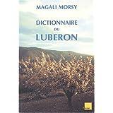 Dictionnaire du Luberon