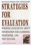 Strategies for Evaluation, David Wilson, 1404206566