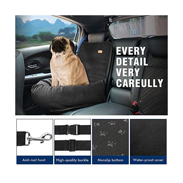 516MDlEA0uL ZEEXIPDR Autositz für Hunde,Autositze für Haustiere,Der hochwertige Hundesitz bietet eine komfortable und sichere…