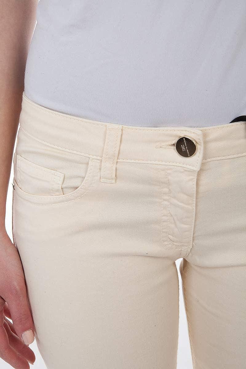 Pantaloni Donna PJ8831715 Panna Elisabetta Franchi