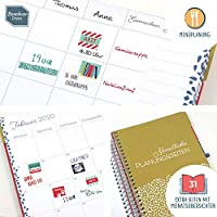 Boxclever Press 2019 2020 Life Book Familienplaner con funda ...