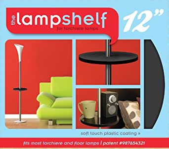 The lamp shelf floor lamps amazoncom for Amazon floor lamp shelf