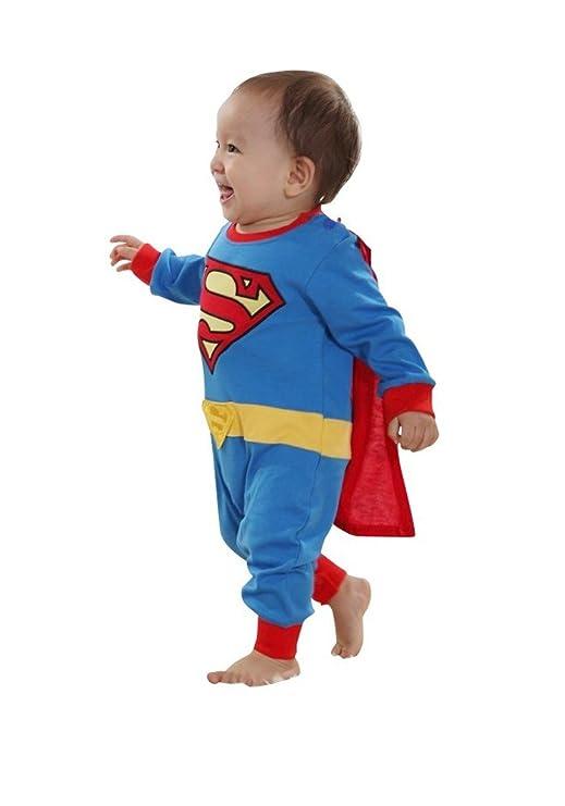 Shoperama Baby Kostum Superman Strampler Kinderkostum Comic