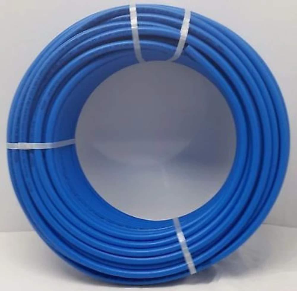 1/2'' - 1000' Coil Blue Certified Non-Barrier PEX Tubing Htg/Plbg/Potable Water