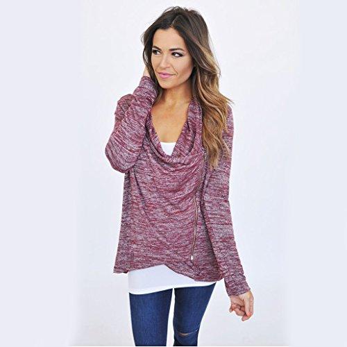 MTTROLI - Camisas - para mujer morado