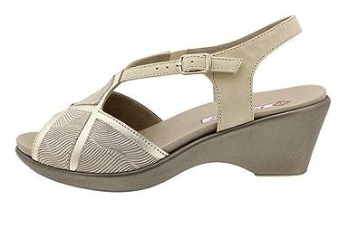 Semelle Amovible Chaussure Piesanto Metal Femme Sandales À Confort DH9I2YWE