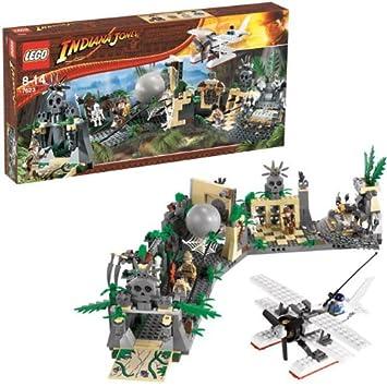 Jones Temple Lego Jeux Du De Construction 7623 Maudit La Indiana Traversée 6Yfgvb7y