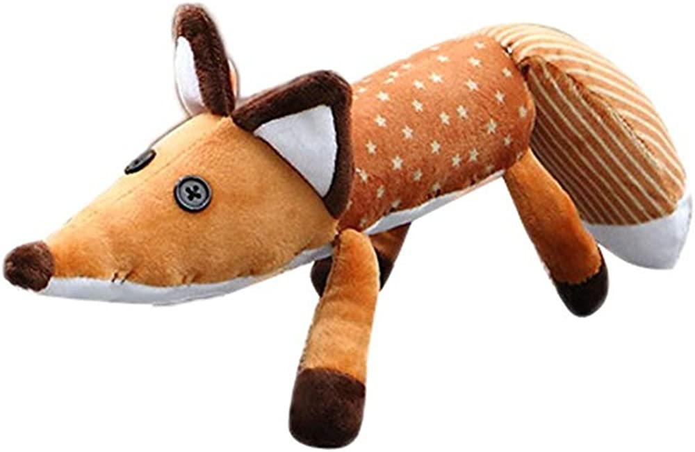 "The Little Prince Le Petit Prince Fox Plush Doll Puppet Toy 17.7/"" /& 23.6/"""