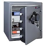 SentrySafe SFW123GDC 1.23 Cubic Feet Extra Large Digital Electronic Fire-Safe, Gun Metal Grey - Best Reviews Guide