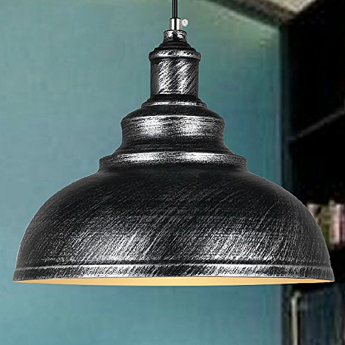 Silver Dome Pendant Light