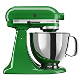 small appliance covers green - KitchenAid KSM150PSCG Artisan Series 5-Qt. Stand Mixer with Pouring Shield - Canopy Green