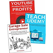 Three Legit Ways to Make Money at Home: Youtube, Udemy & Garage Sales