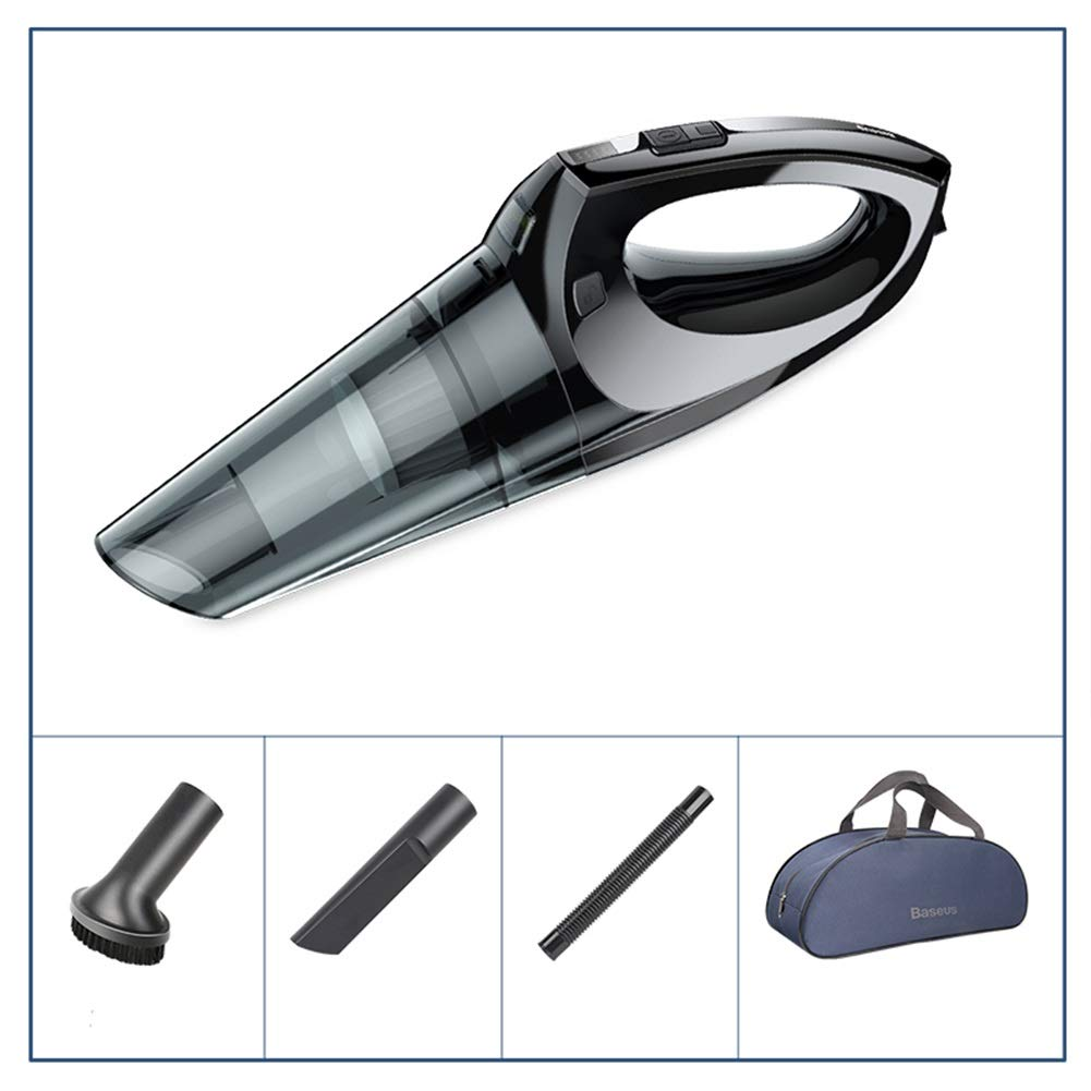 GXFC Car Vacuum Cleaner,Portable Strong Suction for Home/Car Wireless Highpower Dust Collector (Size : L)
