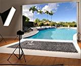 Luxury Swimming Pool Backdrop NBK06170