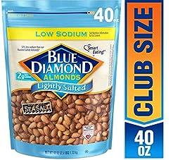 Blue Diamond Almonds Low Sodium Lightly ...