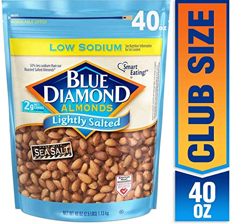 Blue Diamond Almonds Low Sodium Lightly Salted, 40 ()