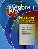 Algebra 1, Noteables 9780078772245
