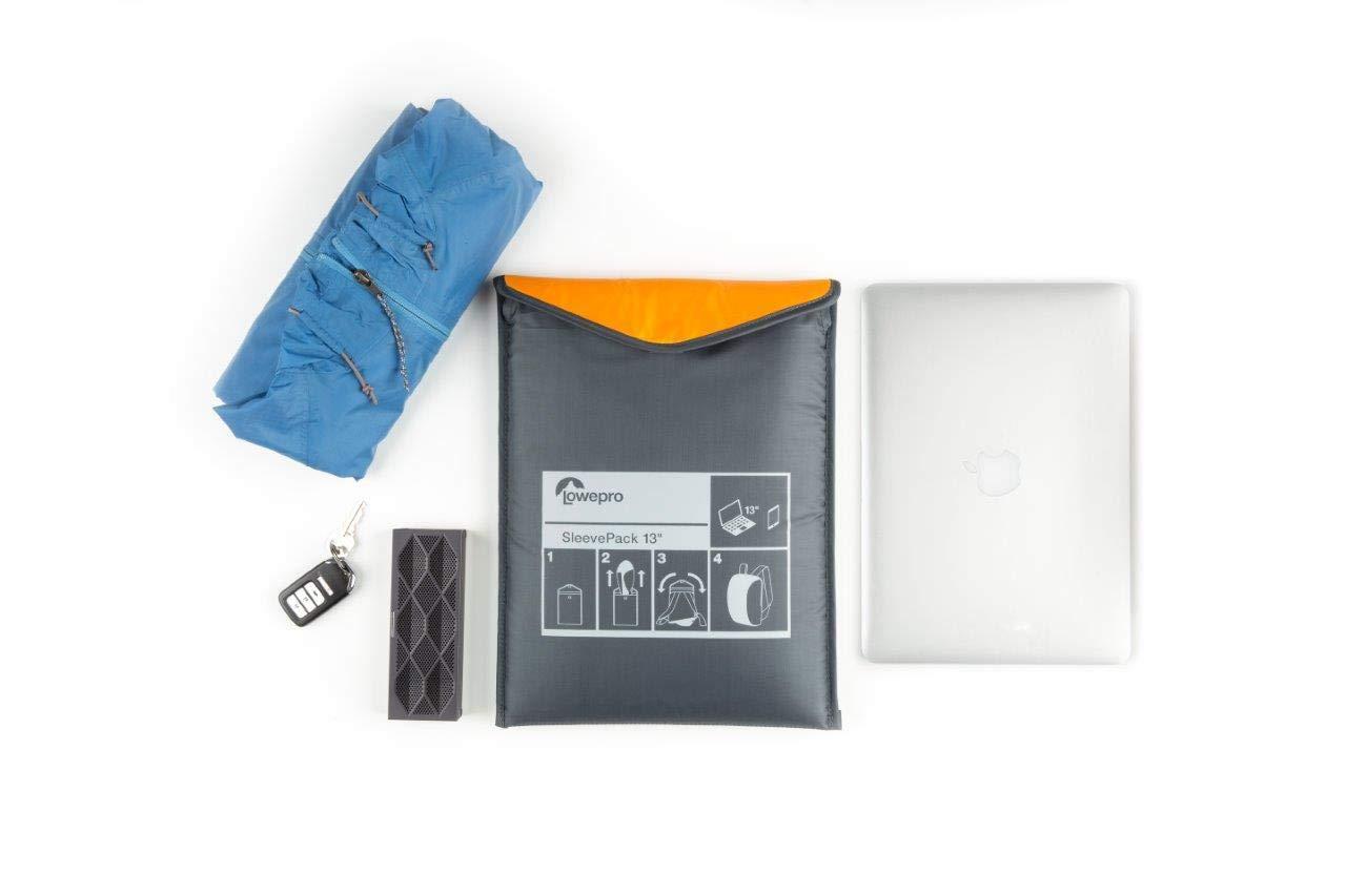 Lowepro SleevePack 13 Travel Sleeve Backpack – Horizon Blue Grey
