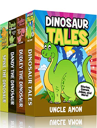 Dinosaur Tales Collection 4 Books In 1 20 Short Stories Fun Games