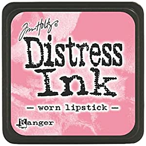 Distress Mini Ink Pad-Worn Lipstick