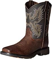 ARIAT Kids Workhog Wide Square Toe Western Boot