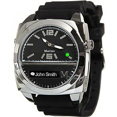 Martian Watches Victory OLED Negro, Plata Reloj Inteligente ...